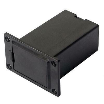 £2.21 • Buy New 1pc 9V Battery Black Holder Case Box Compartment Cover Guitar Bass Pickup