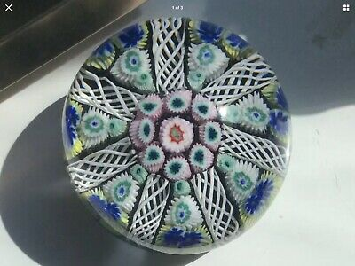 £24 • Buy Beautiful Vintage Strathearn Glass Paperweight