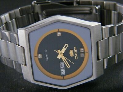 $ CDN0.92 • Buy GENUINE VINTAGE SEIKO 5 AUTOMATIC JAPAN MENS DAY/DATE WATCH 112-a108953-3