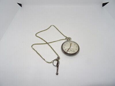 £44.95 • Buy WW2 Military GS/TP Hand Wound Movement Pocket Watch Working