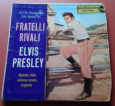 £4.99 • Buy ELVIS PRESLEY Fratelli Rivali,COVER ONLY For This Rare EP From ITALY.No Vinyl.