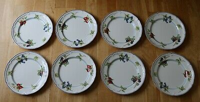 £25 • Buy Villeroy & Boch 1748 Country Collection 8 X Dinner Plates 10.5  Diameter.