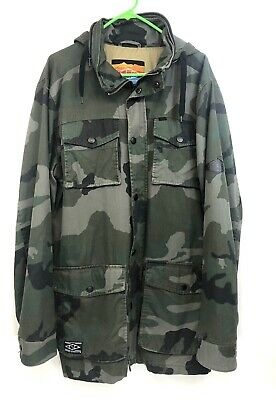 $29.97 • Buy ESC Empyre Surplus Co Utility Jacket Camouflage Mens XL Hooded