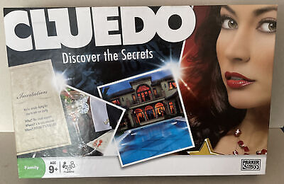 £7.99 • Buy Parker Cluedo Discover The Secrets 2008 Family Fun Mystery Board Game Complete
