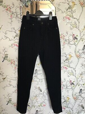 £10 • Buy Urban Outfitters Black Cord MOM Jeans