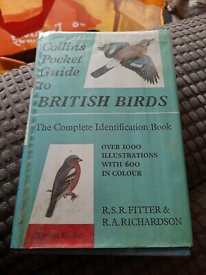 £4.50 • Buy FITTER Collins Pocket Guide To British Birds: Complete Identification Book