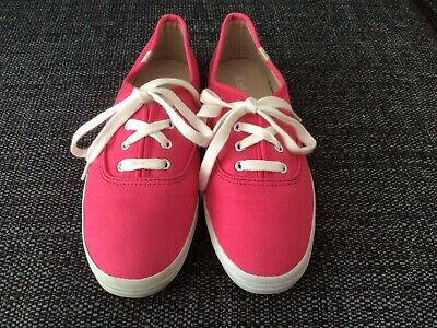 £4 • Buy Ladies Keds Sneakers Trainer Size 4 Pink With Arch Support Orthotic Summer Shoes