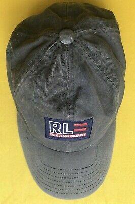 £19.99 • Buy Polo Ralph Lauren Jeans Co Olive Green Blue Casual Adjustable Hat  Baseball Cap