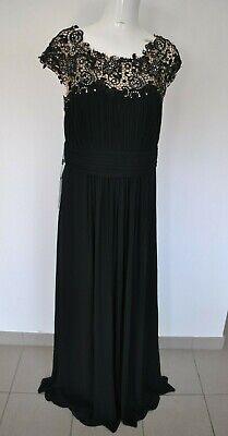 £10 • Buy Long Black Half Sequined  Wedding Cocktail Prom Party Dress Size 20 Ever Pretty