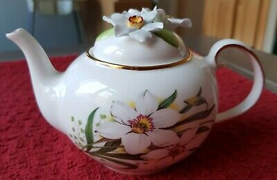 £27 • Buy ROYALE STRATFORD Country Cottage Collection Teapot Spring Narcissus Porcelain