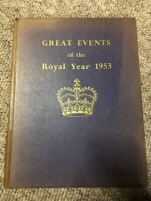 £6.80 • Buy Elizabeth R 1953, Great Event's Of The Royal Year 1953