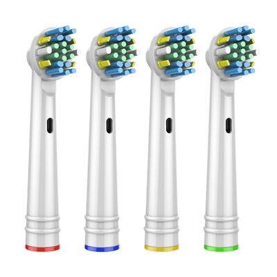AU15.42 • Buy 4x Replacement Brush Heads For Oral B Electric Toothbrush FLOSS ACTION Fit Clean