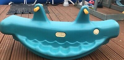 £7.50 • Buy Little Tikes Green Whale See-Saw/Teeter-Totter USED