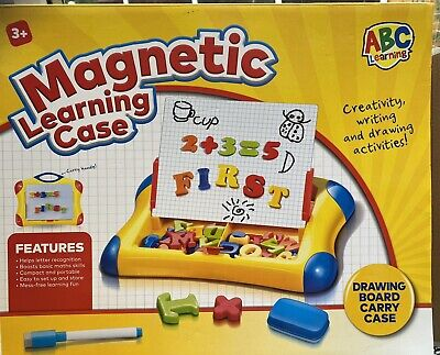 £7 • Buy Magnetic Learning Case With Letters/numbers And Whiteboard And Pen