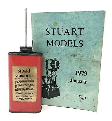 £4.99 • Buy Stuart Turner Steam Engine Models Cylinder Oil Can With 1979 Catalogue List Rare