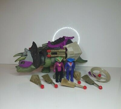 £40 • Buy Vintage,Dino-Riders,Triceratops,Incomplete, Tested,Working,1987,Tyco