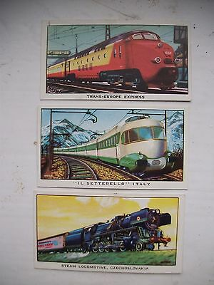 £0.99 • Buy Kellogg Cards The Story Of The Locomotive Series 2 No.s 1,11 And 12 Exc Con