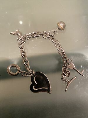 £29 • Buy Beautiful Links Silver Charm Braclet And Charms