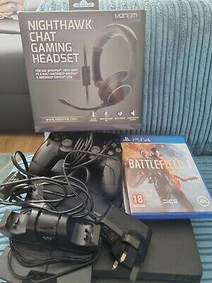 AU121.45 • Buy PS4 1tb Console Excellent Condition Complete With Dual Docking Station Venom...