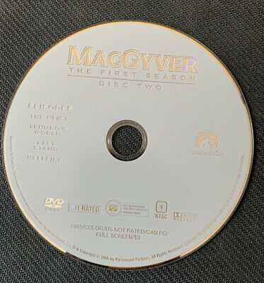 $4.99 • Buy MacGYVER SEASON 1 DISC 2 REPLACEMENT DVD LOOSE DISC ONLY Free Shipping
