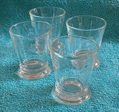 £12.50 • Buy La Rochere French Bee Clear Glasses 4  Tall Glass X 4