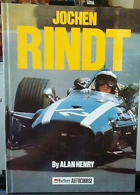 £7.21 • Buy JOCHEN RINDT, By Alan Henry.  1st F1 Victory Was At The Glen, 1969 Int'l Edition