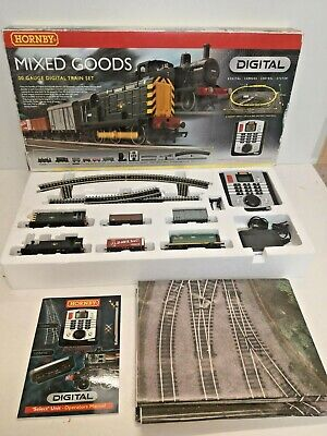 £124 • Buy Hornby R1075  Mixed Goods  DCC Fitted Digital Train Set