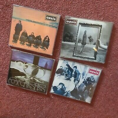 £4 • Buy Oasis  Sunday Morning Call/Cigs & Alcohol/Roll With It/Wonderwall  4x CD Singles