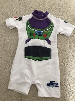 £2.10 • Buy Boys Girls UV 40+ Protection Suit Age 12-18 Months Buzz Lightyear Next Swimsuit