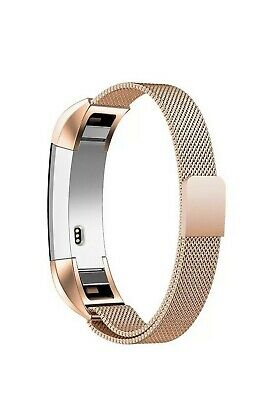 AU6.68 • Buy Replacement Band For Fitbit Alta Adjustable Clasp Stainless New North Rose Gold