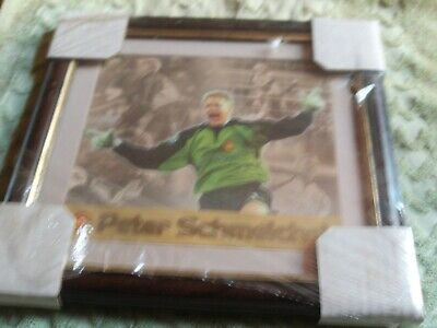 £14 • Buy Framed Manchester United Peter Schmeichel Tribute Card #255 Of 950