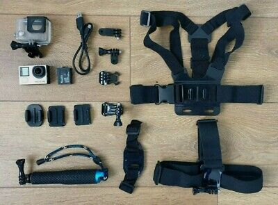 $ CDN218.01 • Buy GoPro Hero 4 Black Edition + Accessories Bundle  - With Free Insured Delivery