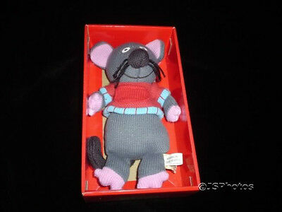 £36.49 • Buy Baby Safe Marie Mouse Doll Knitted Latitude Enfant France Granimals New Retired