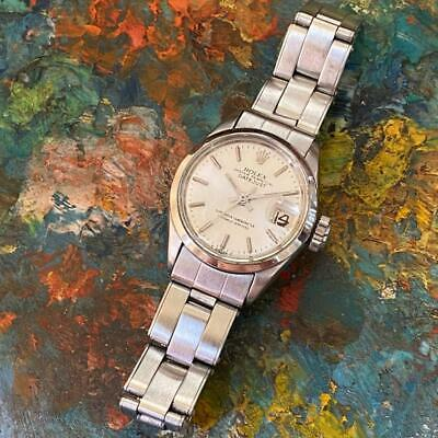 $ CDN1611.26 • Buy Rolex Oyster Perpetual Datejust Reference 6516 Ladies Vintage Watch 100% Genuine