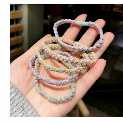 AU1 • Buy Hair Accessories Simple Hair Rope Two-color Cross Rubber Band Hair Ring