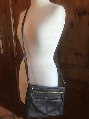 AU59.99 • Buy Stylish Oroton Brown Leather Cross Body Bag, As New Condition