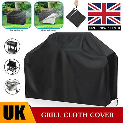 £8.99 • Buy Large Size BBQ Cover Heavy Duty Waterproof Gas Barbecue Outdoor Protector Covers