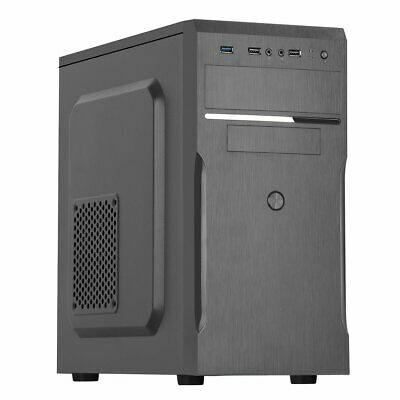 £26.99 • Buy CiT MX-A05 Pc Computer Mid Tower Case - Black 500w PSU Installed Brand New