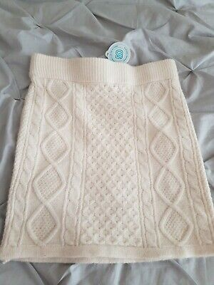 £3 • Buy Size 6-8  Cable Knit Mini Skirt New With Tags