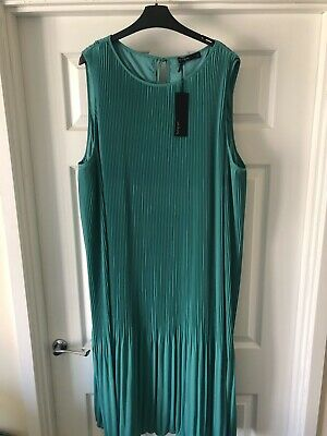 £17 • Buy Ladies Marks And Spencer Autograph Dress Size 24 Rrp £69.50