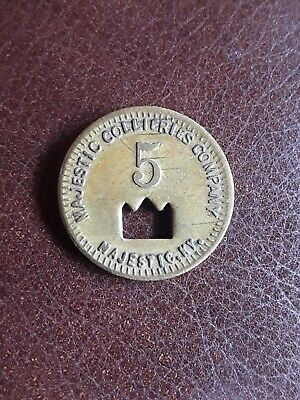 $8.95 • Buy Coal Scrip Token Majestic Collieries Company Pike Co. Majestic Ky. 5 Cent