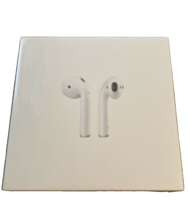 AU141.21 • Buy Apple AirPods 2nd Generation With Charging Case - White. New In Sealed Box