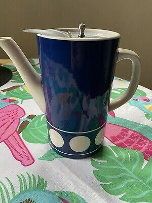 £9.99 • Buy T G Green Blue & White Teapot With Detachable Metal Lid