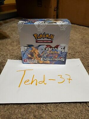 $799.99 • Buy Pokemon XY Evolutions Booster Box Factory Sealed. 36 Booster Packs MINT