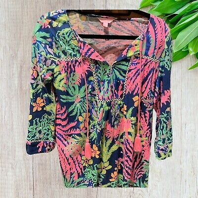 $26.99 • Buy Lilly Pulitzer Size Small Top !! EUC!
