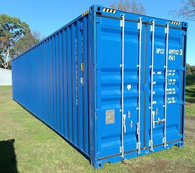AU13500 • Buy Brand NEW 40' Foot HC High Cube Shipping Container Steel Shed Tiny House Office