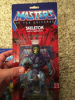 $179.99 • Buy Masters Of The Universe Custom Card Minty 8 Back Test Market Peach Skeletor READ