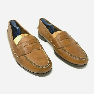 $39.20 • Buy Cole Haan Men's Brown Leather Casual Shoes Penny Loafers Size 12D Boat