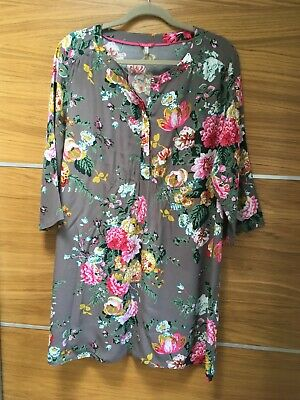 £7.50 • Buy Joules Floral Tunic Top Size 16