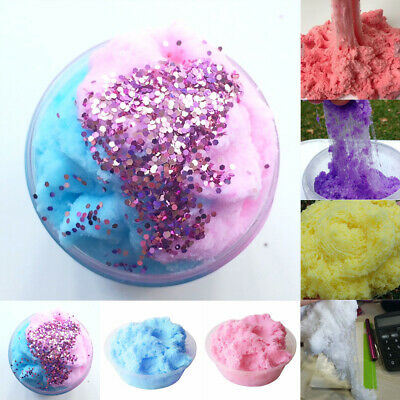 AU8.73 • Buy Fairy Floss Cloud Slime 50g Reduced Pressure Mud Stress Relief Kids Clay Toy New